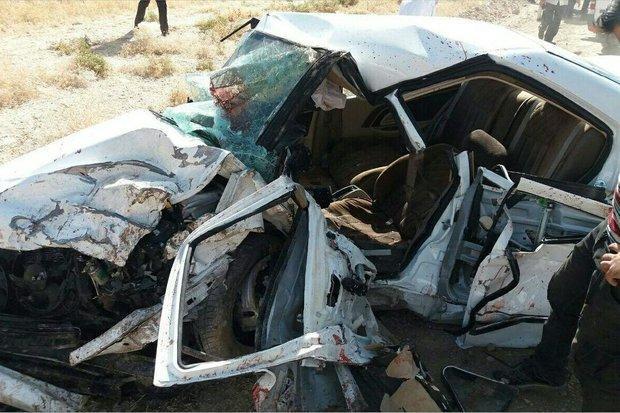 تصادف زنجیره ای در خرم آباد 5 کشته و 3 مصدوم برجا گذاشت