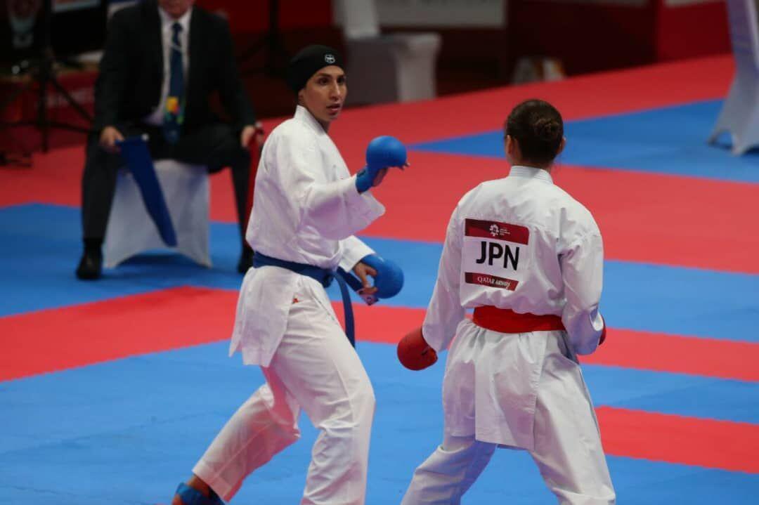 خبرنگاران کوشش عباسعلی و عسگری برای کسب مدال برنز لیگ جهانی کاراته