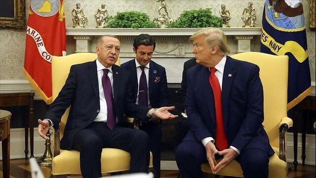 استقبال رسمی از اردوغان در کاخ سفید، ترامپ: اکثر نیروهایمان را از سوریه برمی گردانیم