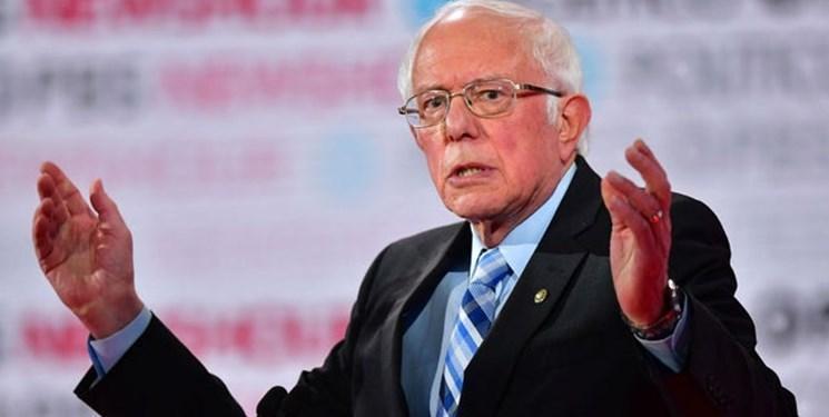 برنی سندرز در صدر رقابت نامزدهای دموکرات نهاده شد